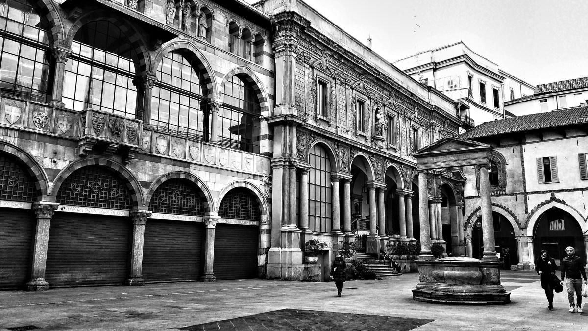 Milano, affascinante in bianco e nero