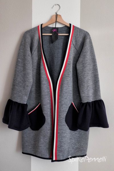 cardigan sporty chic