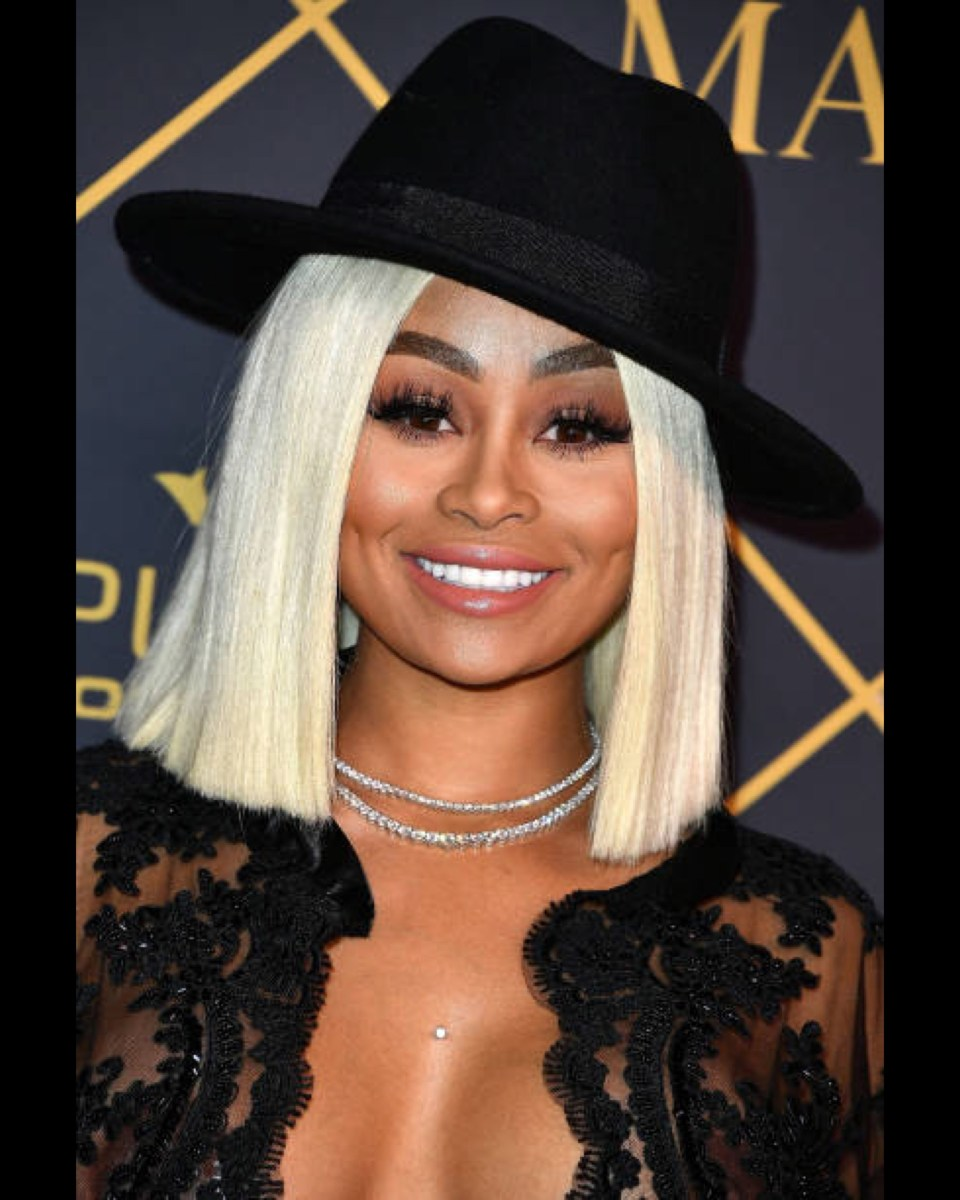 Blac Chyna Involved in a  Car Crash