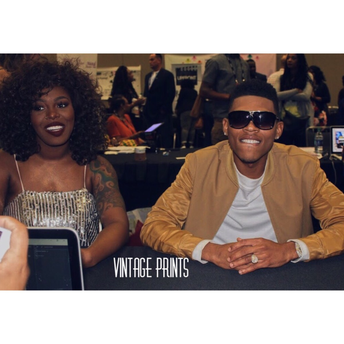 Essence Press Room: ‪Bryshere Gray & Ta'Rhonda Jones of Empire‬