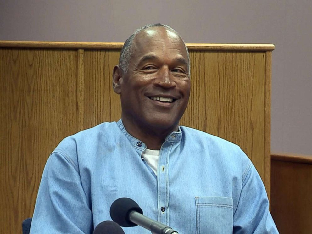 OJ Simpson Granted Parole for Las Vegas Robbery
