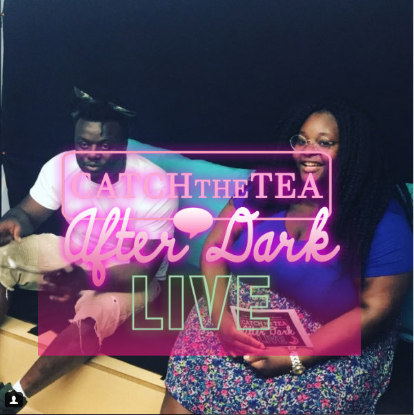 Catch The Tea After Dark With Yoda Black