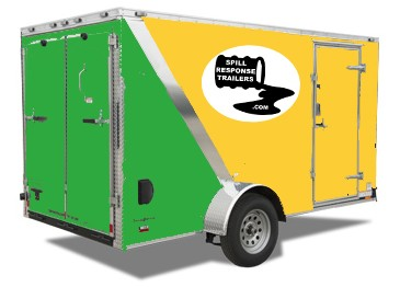 Spill Response Trailer SRT5000plus Rear