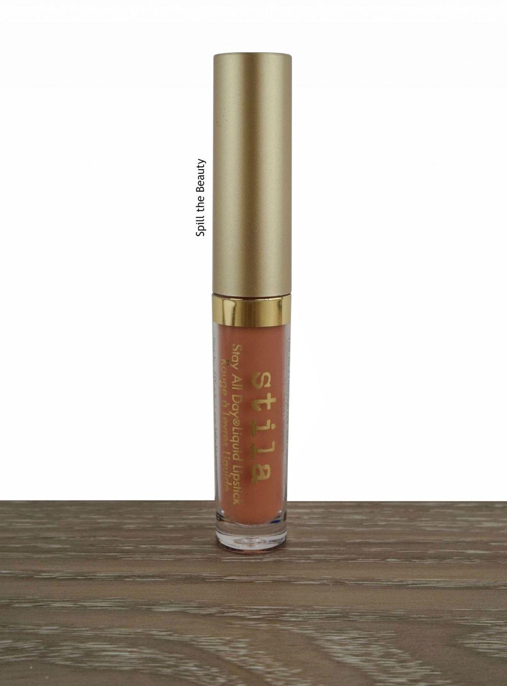 stila stay all day liquid lipstick swatch comparison dupe