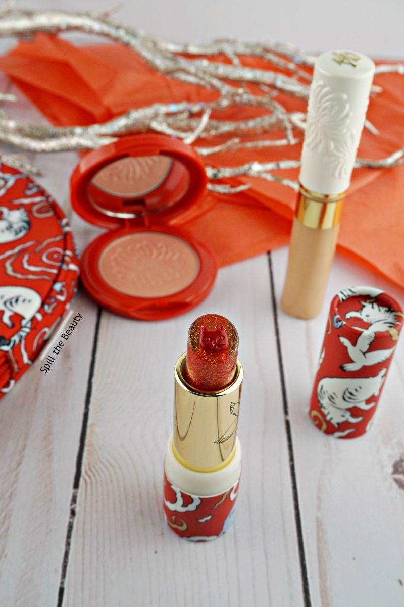 paul and joe makeup collection 2017 cat lipstick blush eye gloss