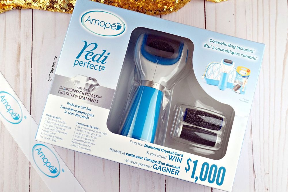 Amope pedi perfect pedicure set with diamond crystals gift guide