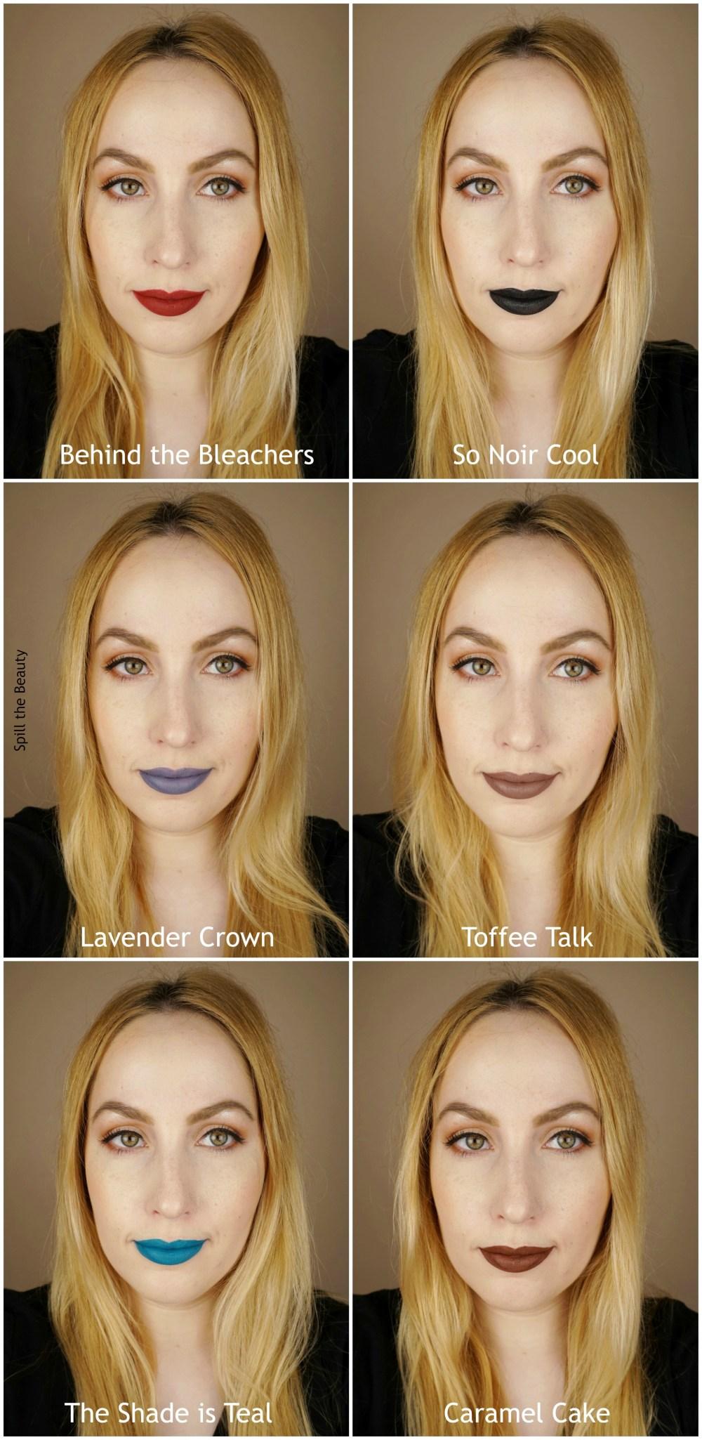 wet n wild 2018 megalast liquid catsuit liquid lipstick shades review swatches