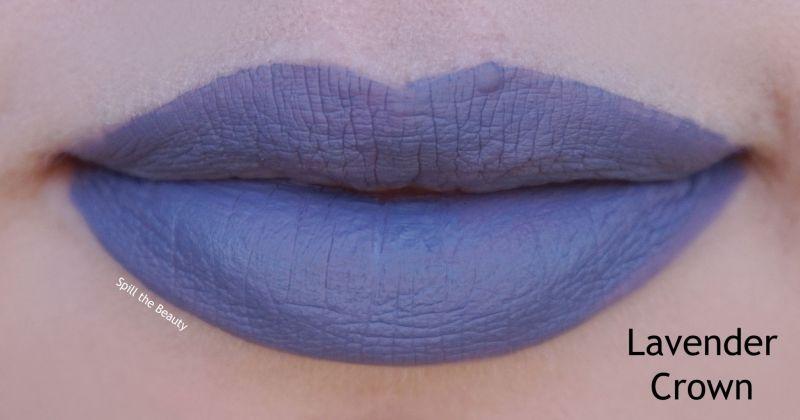 wet n wild 2018 megalast liquid catsuit liquid lipstick shades review swatches lavender crown