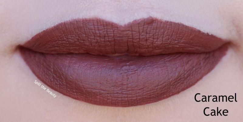 wet n wild 2018 megalast liquid catsuit liquid lipstick shades review swatches caramel cake