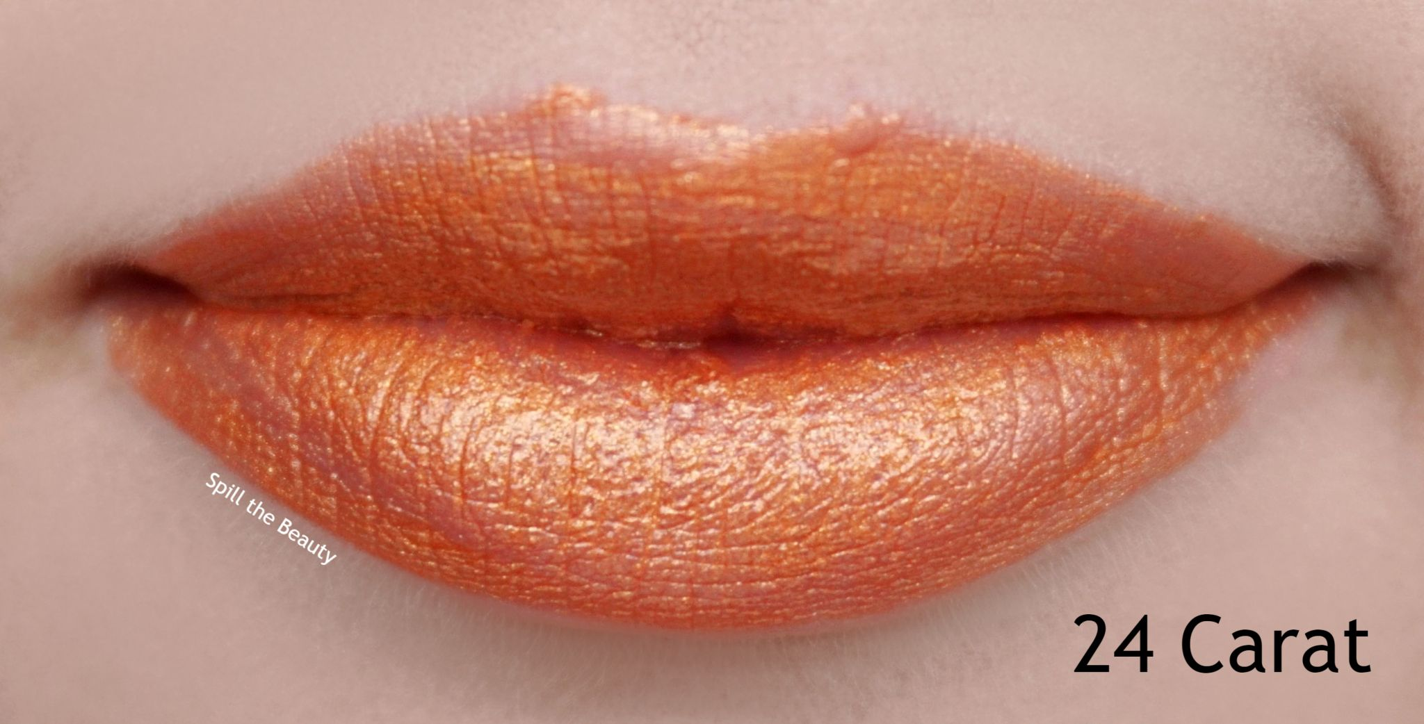 Lip Swatch Saturday  Covergirl Melting Pout Metallics 24