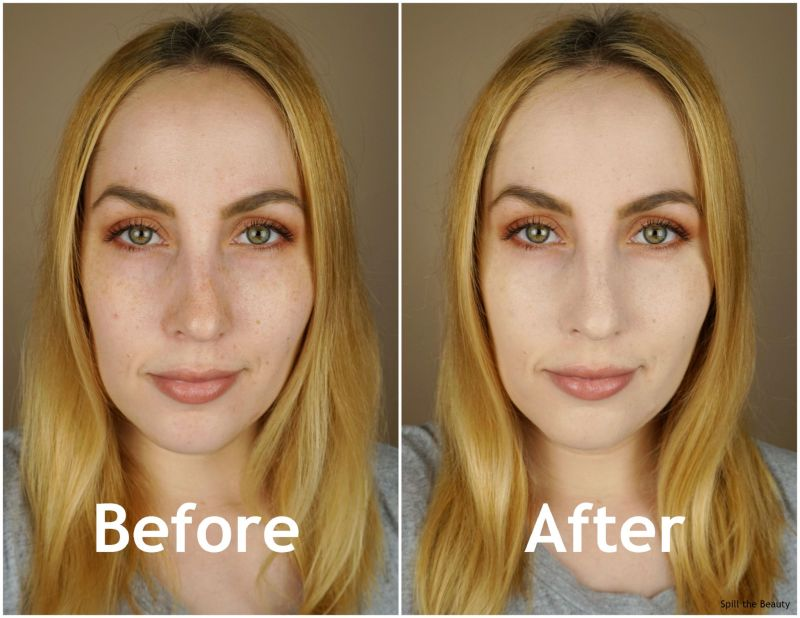 revlon colorstay foundation normal dry ivory 110 review swatches before and after