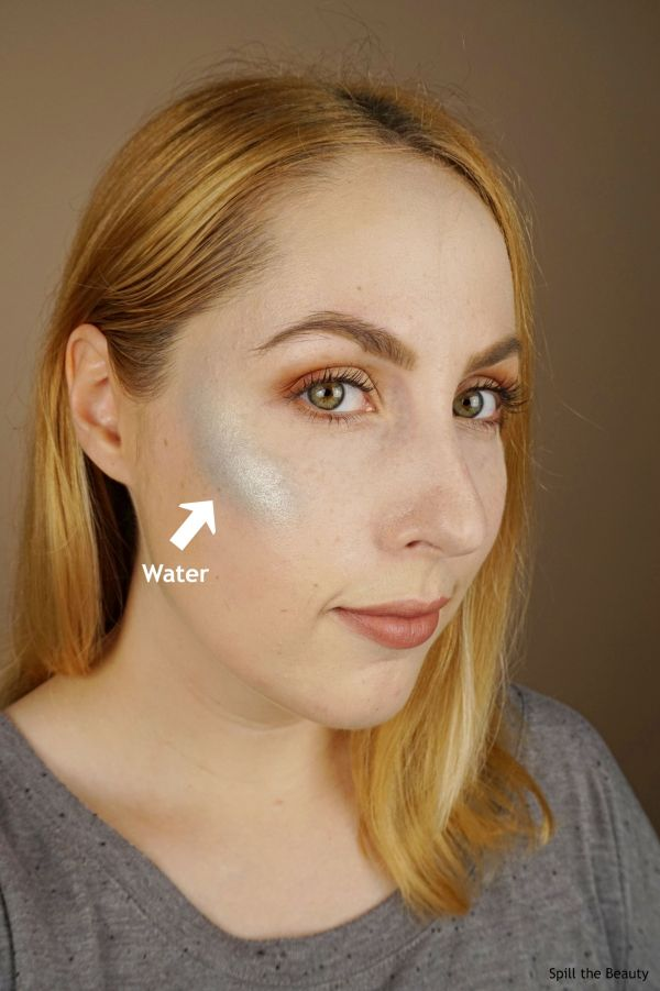 wet n wild zodiac collection highlighters review swatches water