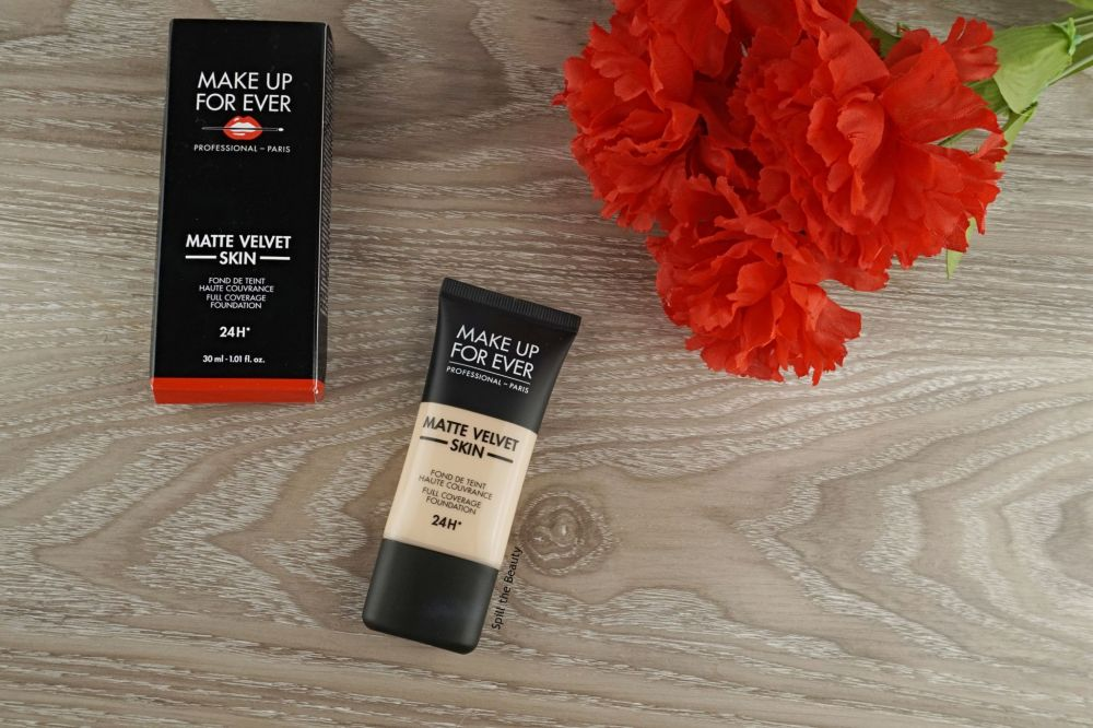 MAKE UP FOR EVER Matte Velvet Skin Foundation – Review, Swatches, Before & After