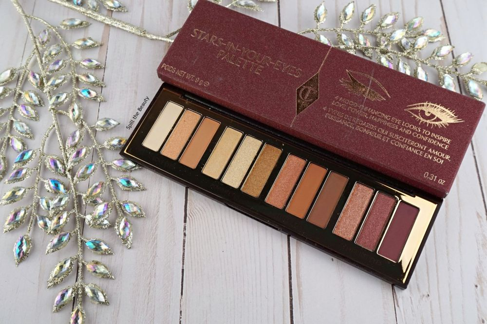 """Charlotte Tilbury """"Stars in Your Eyes"""" Palette – Review, Swatches, 4 Looks"""