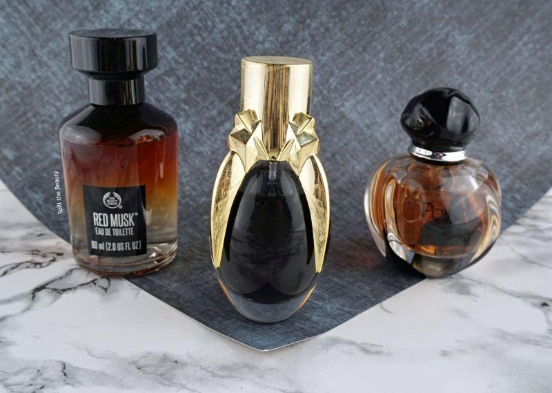 winter perfume favorites