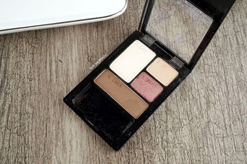 maybelline eyeshadow quad designer chocolates