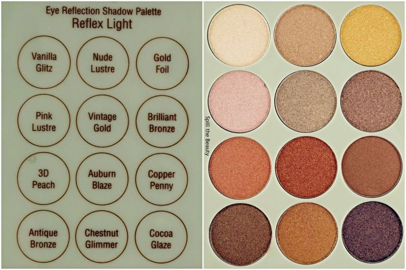 pixi beauty eye reflection shadow palette reflex light review swatches