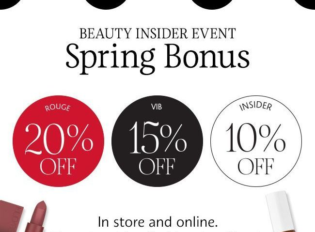 Sephora Spring Bonus Sale – Top Picks