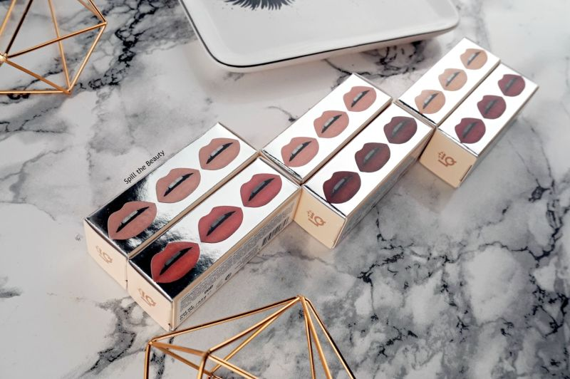 lipstick queen nothing but the nudes review swatches