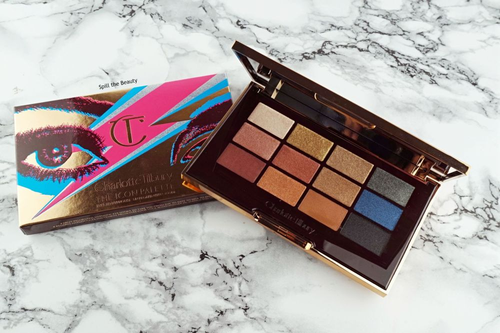 """Charlotte Tilbury """"The Icon Palette"""" – Review, Swatches, 4 Looks"""
