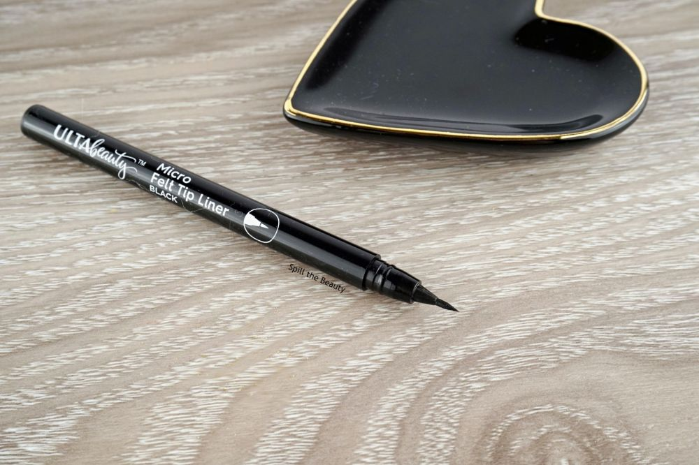 Ulta Beauty Micro Tip Liner – Review, Swatches, Comparison