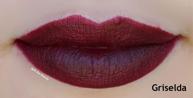 fenty beauty griselda lip swatch