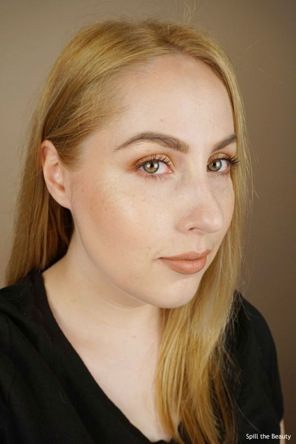 face of the day tartelette toasted
