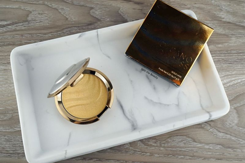 becca gold lava highlighter