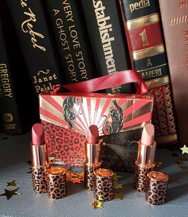 Charlotte Tilbury holiday 2019 mini lipstick set shades