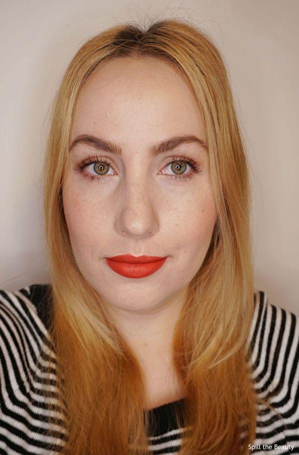 bourjois grande roux lipstick swatch