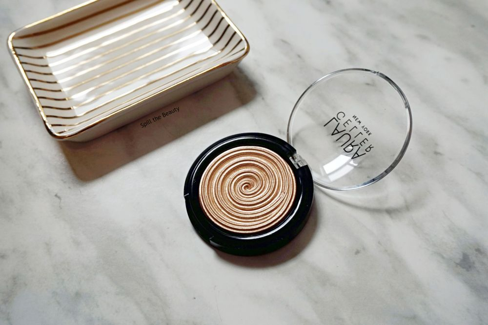 "Laura Geller Baked Gelato Swirl ""Gilded Honey"" – Review, Swatches"