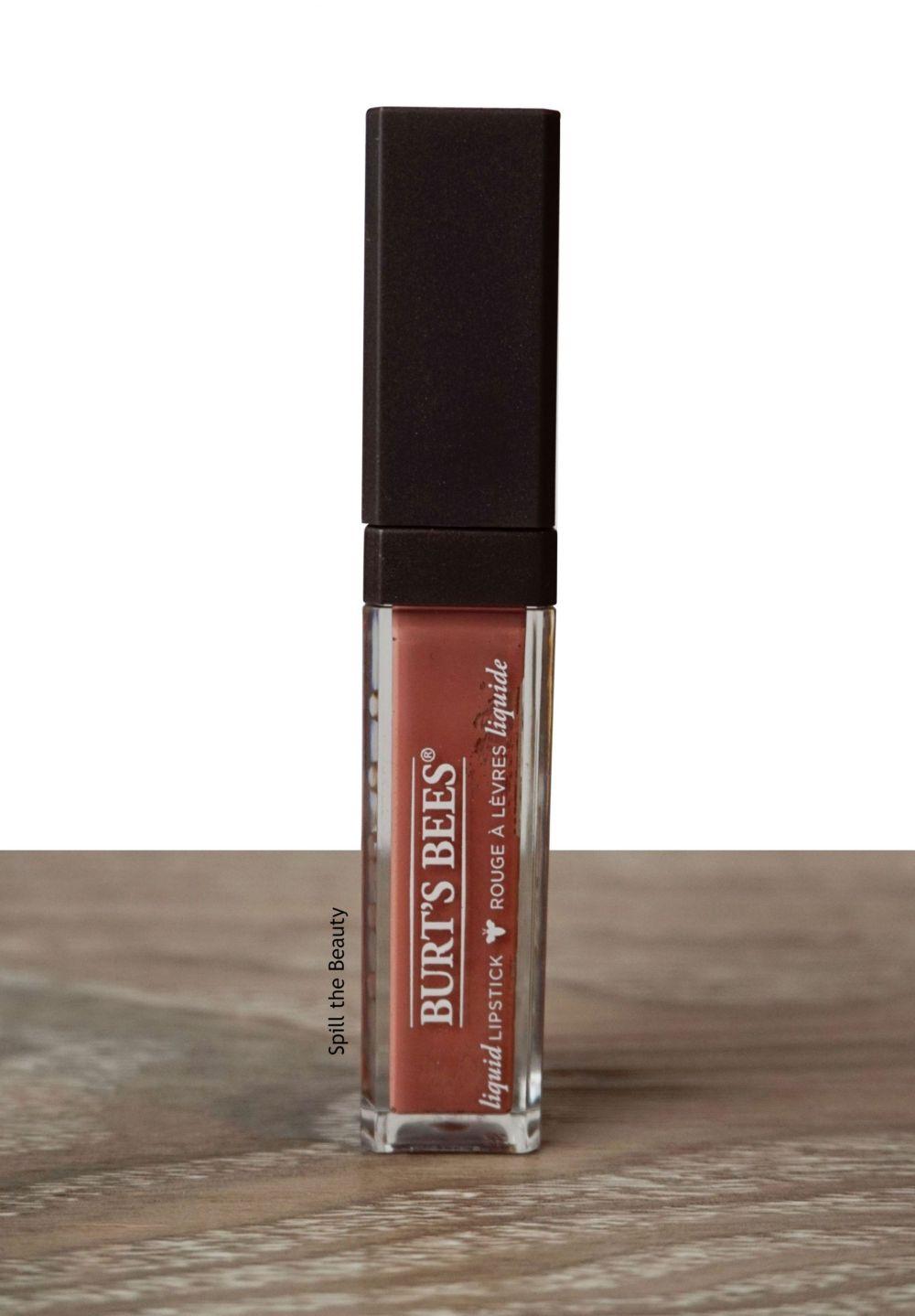 burts bees niagara nude liquid lipstick swatches