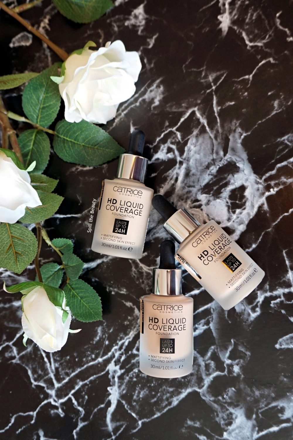 CATRICE HD Liquid Coverage Foundation – Review, Swatches, Before and After