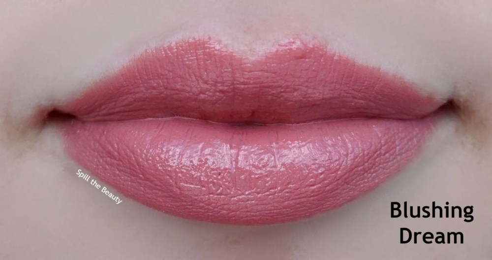 charlotte tilbury blushing dream swatch