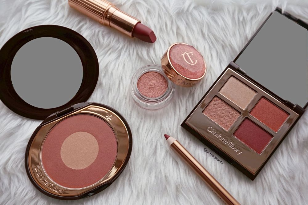 charlotte tilbury walk of no shame review swatches