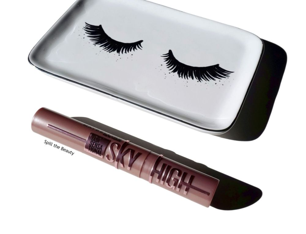 maybelline sky high mascara review before and after