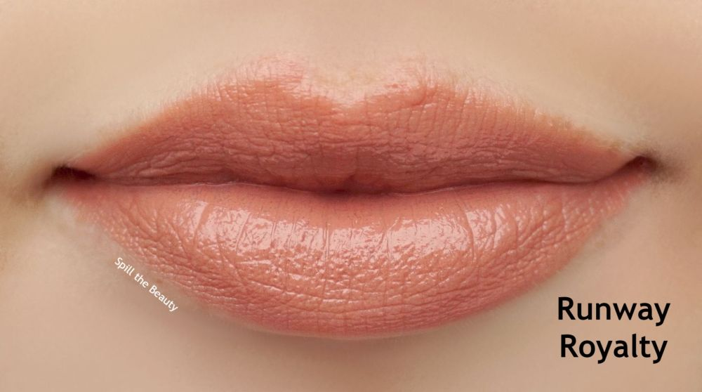 charlotte tilbury super nudes lipstick runway royalty review swatches