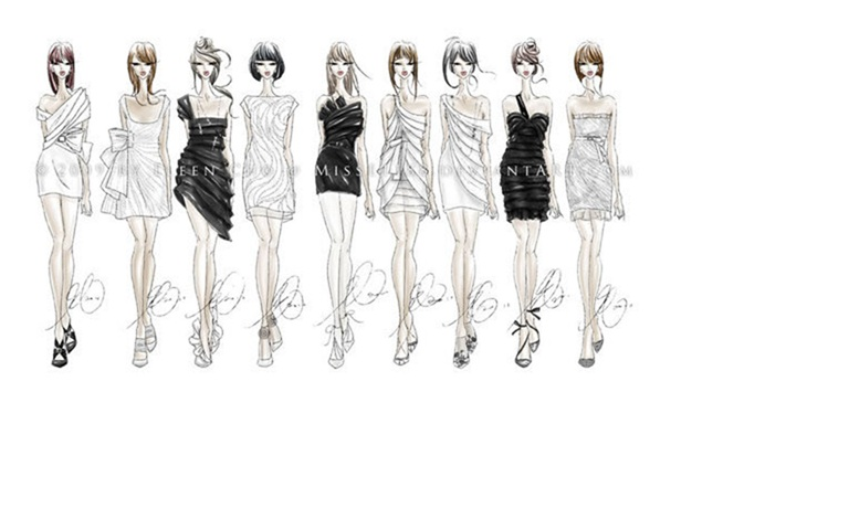 From Fibre to Couture: How to Sketch for Fashion Design
