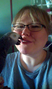 HM - Self with bird - henry kisses