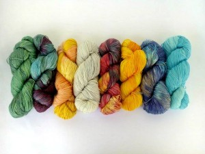 LC - Dyed yarn - 8 skeins