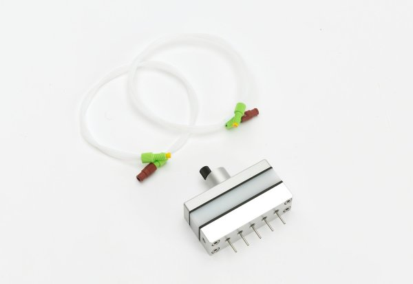 Spinbox Part – Coaxial multi-needle spinning head (5 emitters)