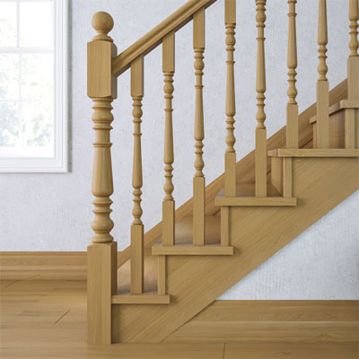 Victorian  Spincraft Woodturning Staircases Newel Posts