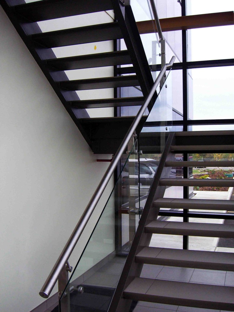 Stair and Railing in Edmonton Alberta  RailingBalustrade