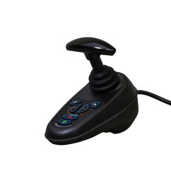 Power Wheelchair Controller Pottery Barn Anywhere Chair Cover Only T Bar Joystick Knob Spinergy