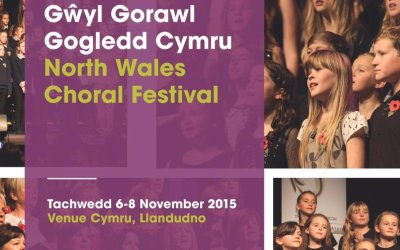 Spinnaker Chorus compete at the North Wales Choral Festival, Llandudno