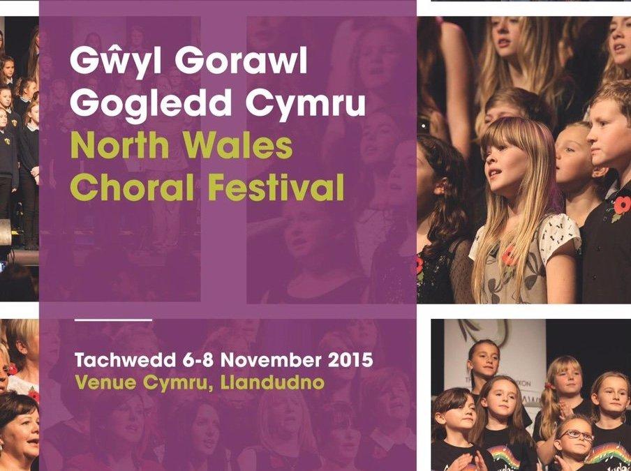 Spinnaker Chorus compete at the North Wales Choral Festival, Llandudno