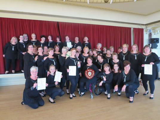Spinnaker Chorus wins triplet at BMCF