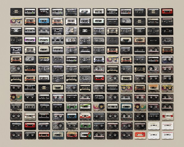 Cassette Tape Collection by Jim Golden