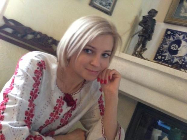 Natalia Poklonskaya in White Blouse