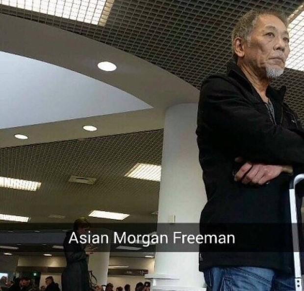 asian morgan freeman